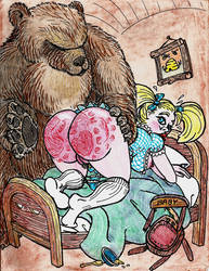 Bad Goldie by The-Darkwolf