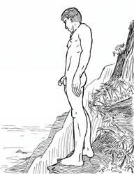 Cliffwalk by The-Darkwolf