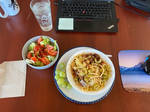Lunch at my desk