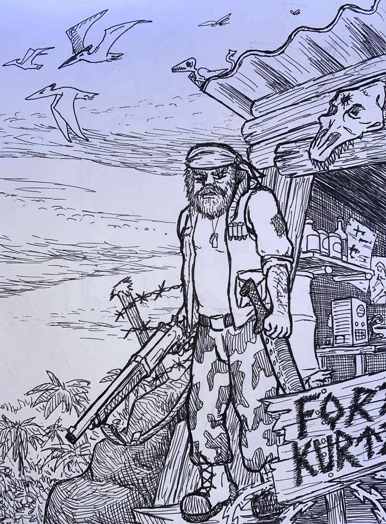 Artober Day 15 - Outpost