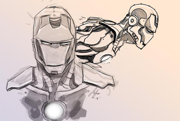 Iron M by Jeyfro