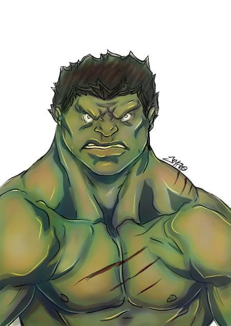 Hulk by Jeyfro