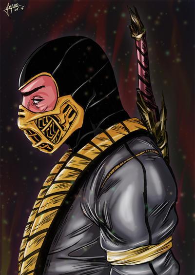 Scorpion by Jeyfro