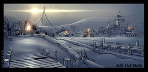 Siberian Village Environment