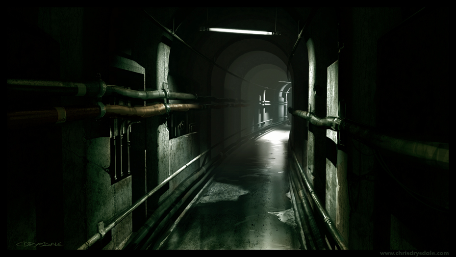 Dank Hallway 2 by Spex84