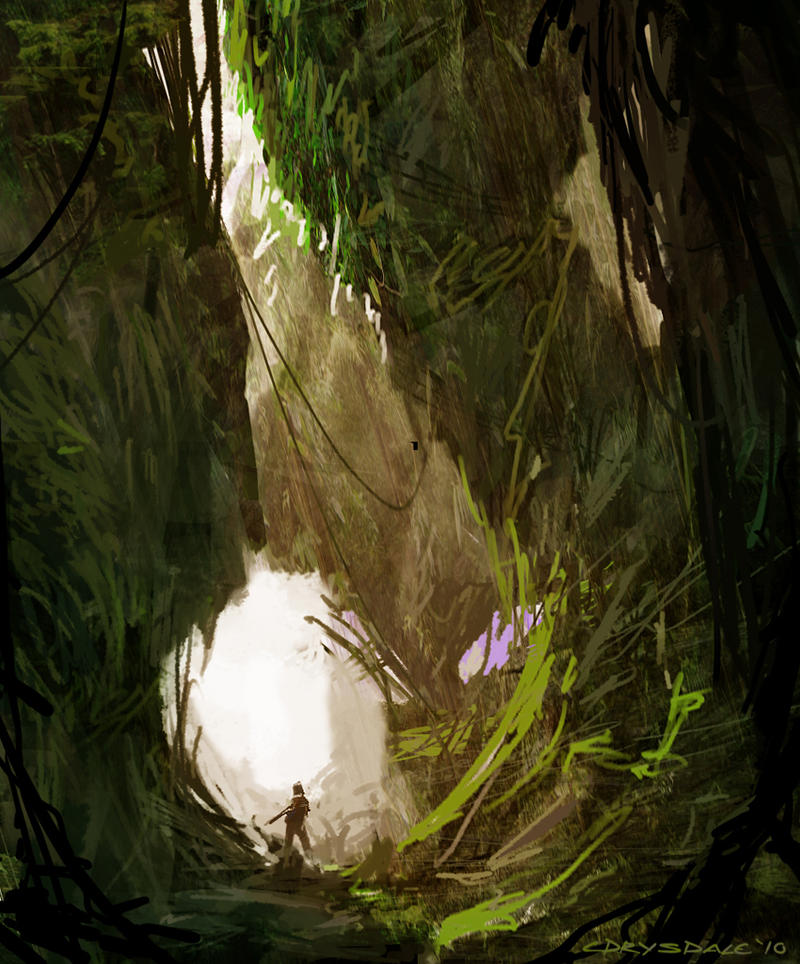 Jungle Pillar by Spex84