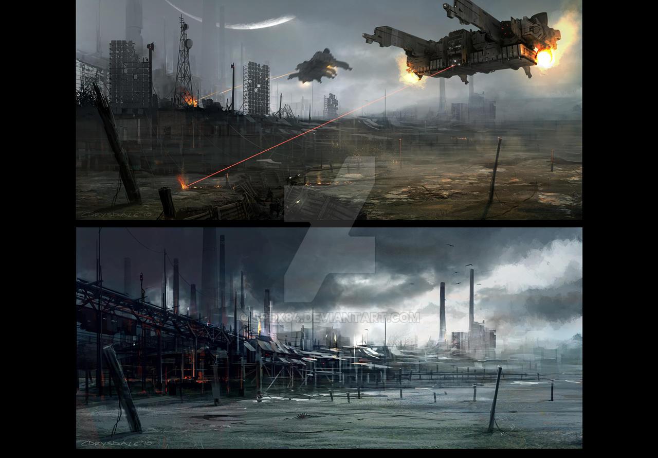 Dropship, Docks by Spex84