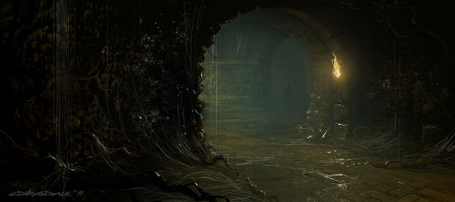 Catacomb sketch by Spex84