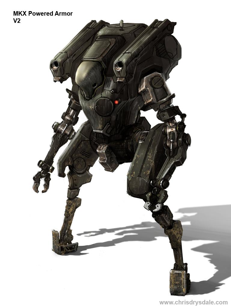 MKX Powered Armor V2 by Spex84