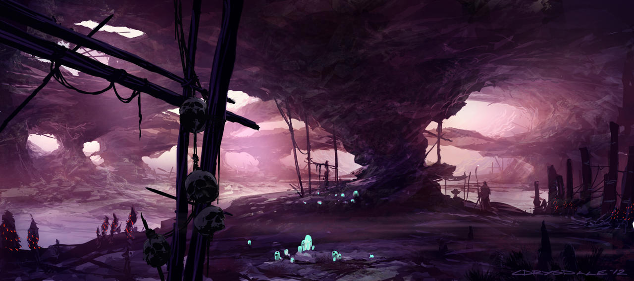 Hunting Cave by Spex84