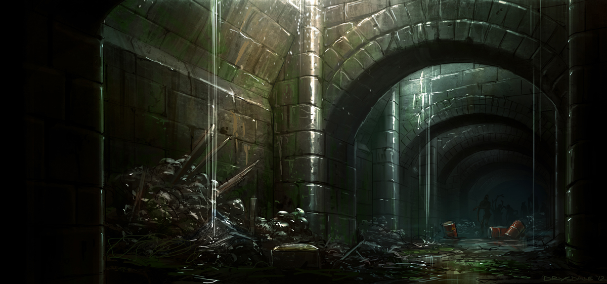 Sewer Tunnels Again By Spex84 On DeviantArt