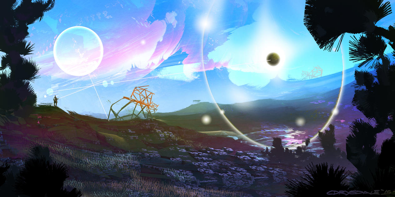 AlienScape by Spex84