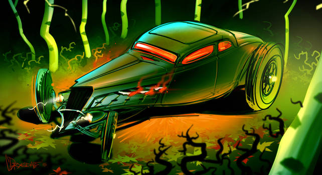 Spooky '34 Coupe