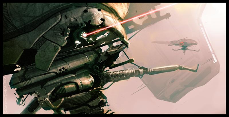 Targeter speedpaint by Spex84