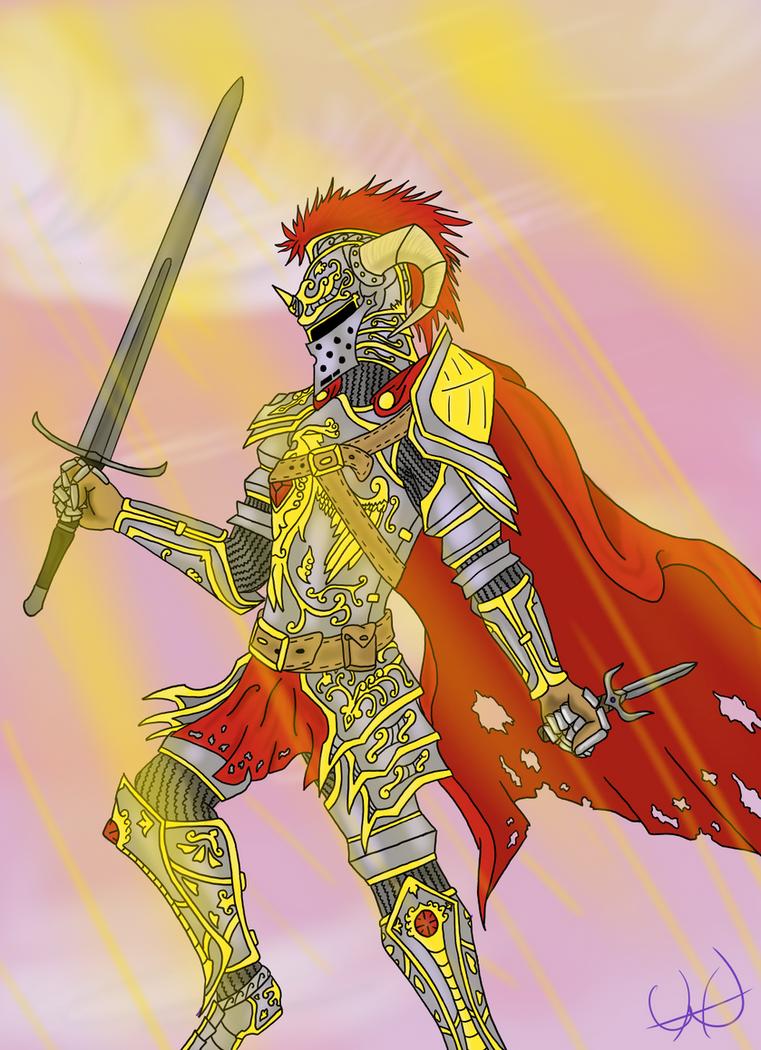 Royal Knight by Vulcahnus