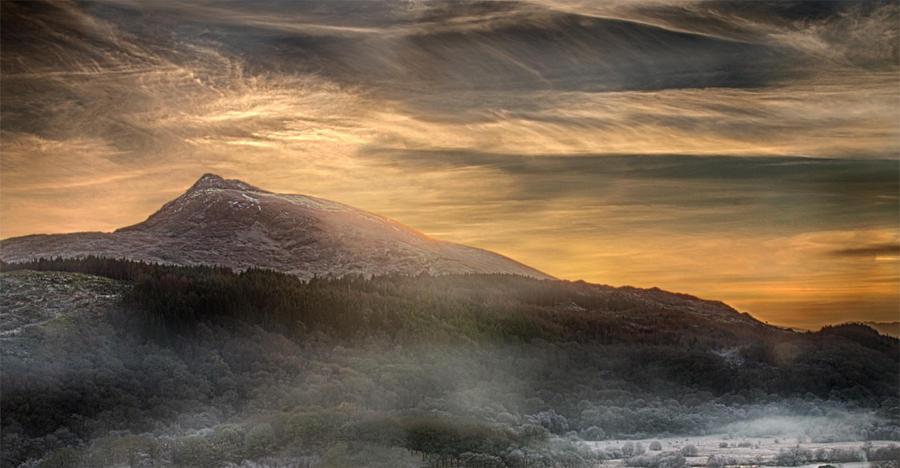 Misty Sunset by CharmingPhotography
