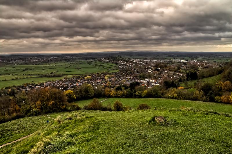 Looking across Glastonbury by CharmingPhotography