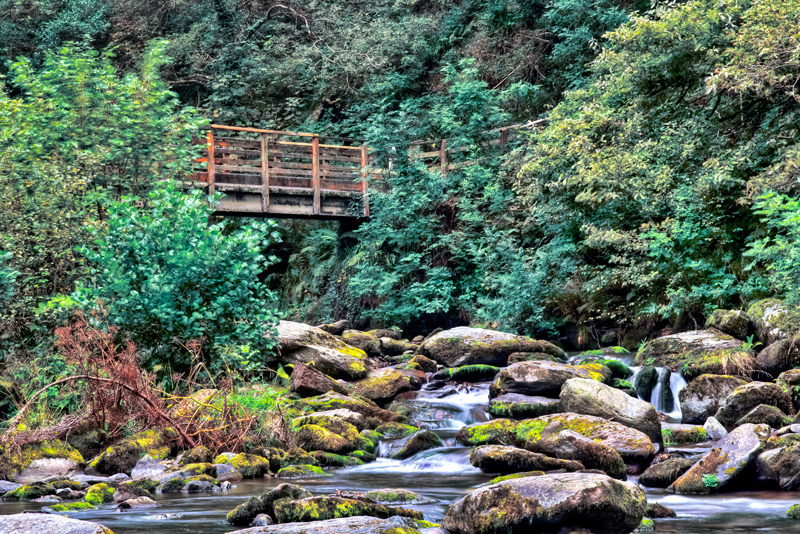 Watersmeet Bridge by CharmingPhotography