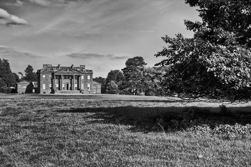 Berrington Hall in Mono by CharmingPhotography