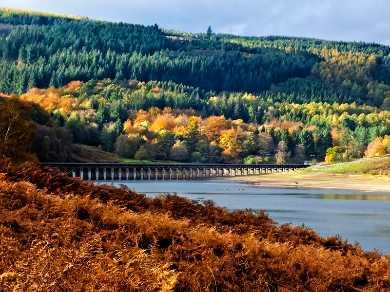 ladybower-reservoir 20Oct2014 by CharmingPhotography