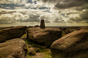 Stanage Edge Trigpoint by CharmingPhotography