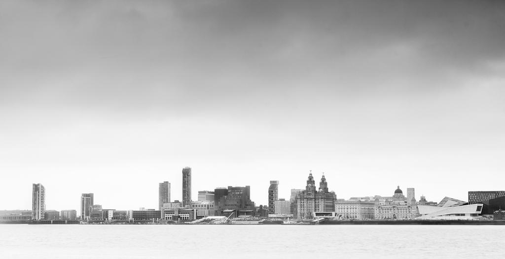 Liverpool in mono by CharmingPhotography