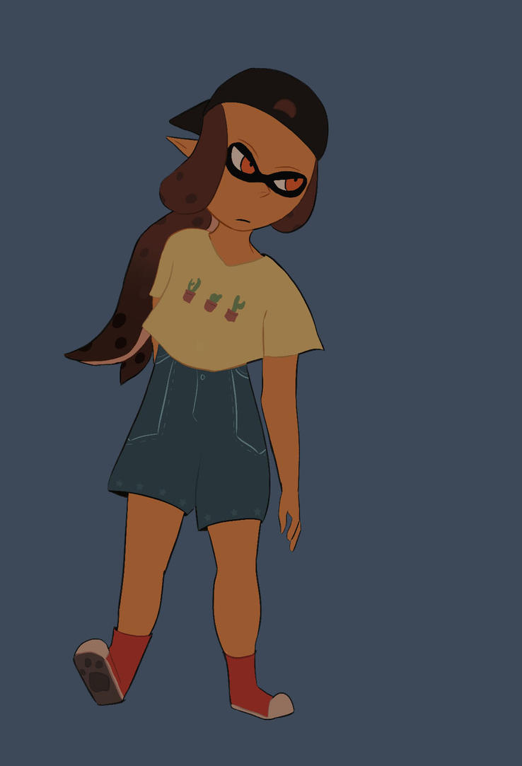Splatoon Look by Lunaoverthecow