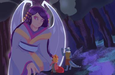 V: Greeting a Goddess