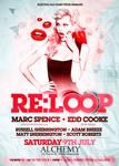 RE:LOOP Nightclub Flyer.