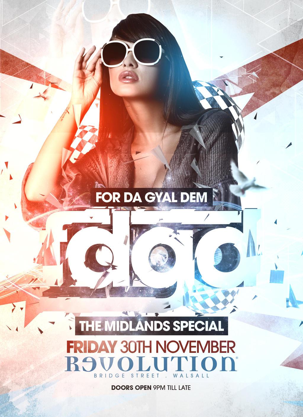 Club event flyer design october 2012 by danwilko