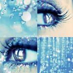 Frozen tears . . ..