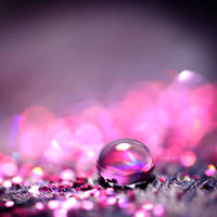 pink - droplet . . .. by light-from-Emirates