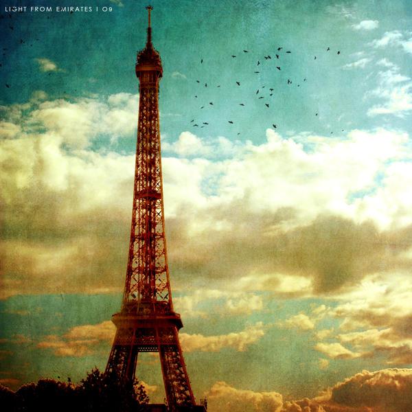 The Eiffel Tower . . .