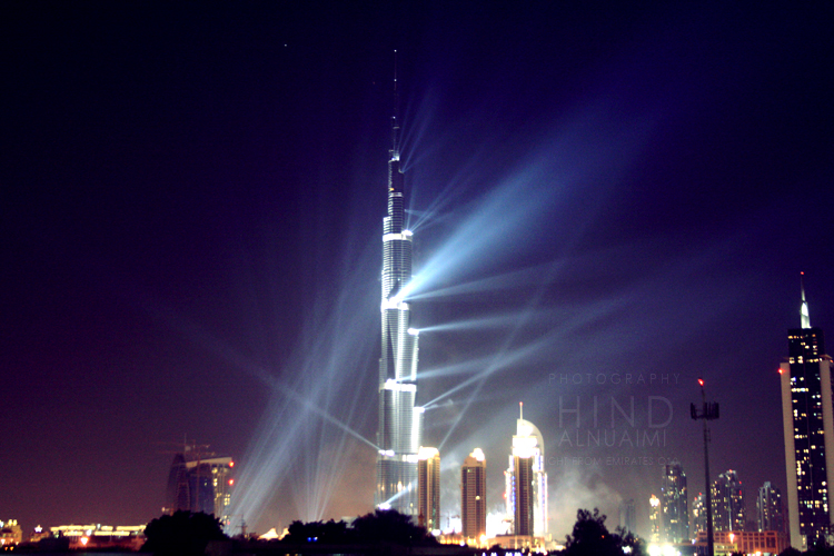 Burj Khalifa by light-from-Emirates