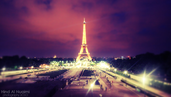[Eiffel At Night]