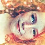 When you smile.  ..