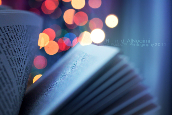 a book full of magic. .. by light-from-Emirates