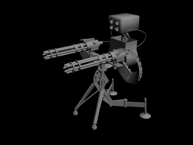 Tf2 Sentry Gun Model Tf2 Sentry Gun Lvl 3 by