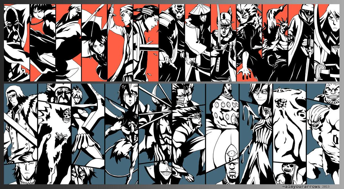 gotei 13 espada 10 by aimyourarrows on deviantart