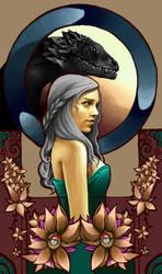 Daenerys Targaryen by LoSqui