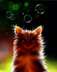 Kitten goes meowmeow by LoSqui