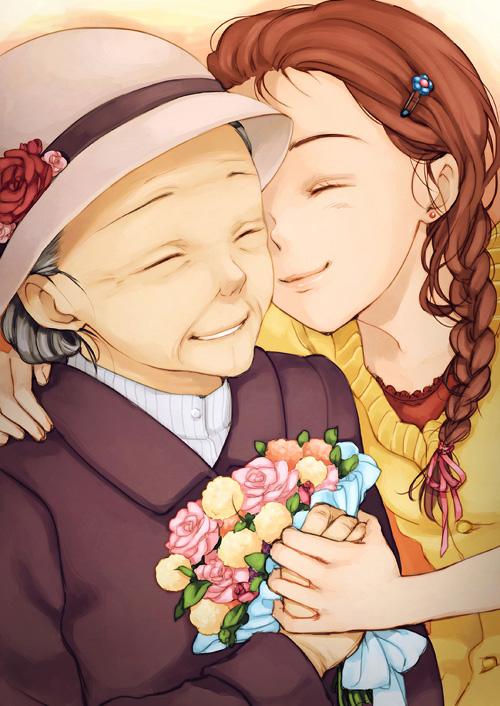 i love you grandma! by loveariddle