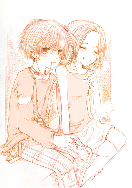 -- NANA - Shin n Hachi -- by loveariddle on DeviantArt