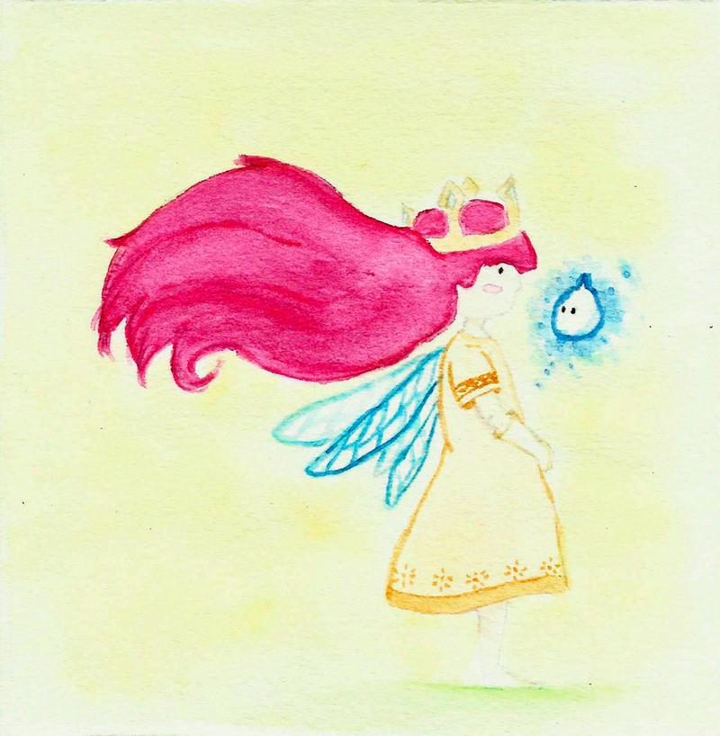 Aurora / Child of light 3 by azulxD