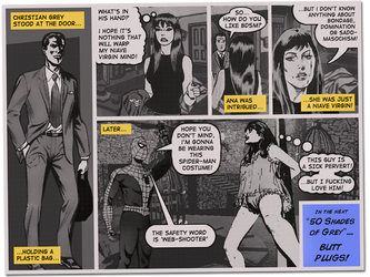 Fifty Shade of Grey - The Comic by AsparagusTrevor