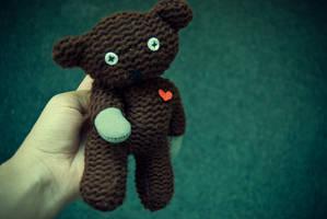 Uneori, the bear. by mybittersweetness