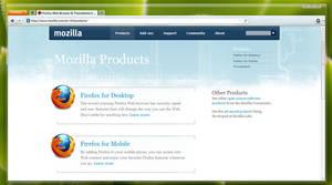 Firefox 4 Mockup Theme by ModdTaco