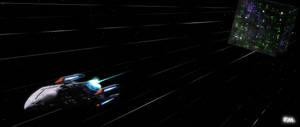 Prometheus Under Attack (Borg Torpedo)