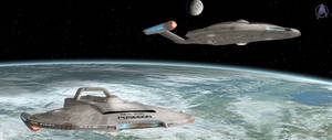 The Enterprise and Poseidon