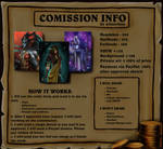 Commission Info | Commission OPEN by aimerline
